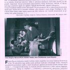 Omówienie sztuki Tadeusza Różewicza pt. Francis Bacon czyli Diego Velázquez na fotelu dentystycznym, przygotowanej na 31 Festiwalu Polskich Sztuk Współczesnych we Wrocławiu przez Teatr Studio z Warszawy, w reżyserii Jerzego Grzegorzewskiego, zamieszczone w programie festiwalu, 1998 r.
