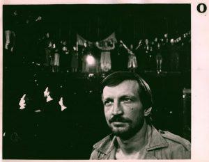 Kartoteka, reżyseria Krystyna Meissner, Teatr im. W. Horzycy w Toruniu. Na zdjęciu: Piotr Chudziński, 1983 r.