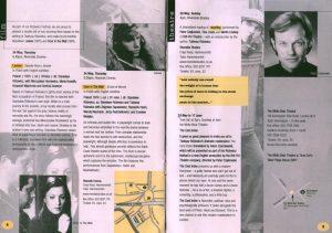 Omówienie sztuki T. Różewicza pt. The Card Index (Kartoteka), w inscenizacji Brit-Pol Theatre (reżyseria Peter Czajkowski), w repertuarze Różewicz Festival [ruzévitch festival], zamieszczonego w informatorze Polish Cultural Institute, London 2001 r.