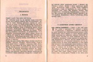 Omówienie sztuki T. Różewicza pt. Kartoteka, w programie do spektaklu, w reżyserii Janusza Kozłowskiego, Państwowy Teatr Dolnośląski w Jeleniej Górze, 1972 r.