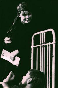 Kartoteka, Studententheater, Helsinki 1965 r. [opis na rewersie fotografii]