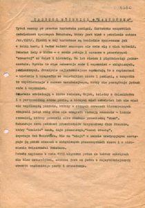 Omówienie sztuki Tadeusza Różewicza pt. Kartoteka, w reżyserii Tadeusza Minca (Teatr Polski – Scena Kameralna), prezentowanej podczas XVIII Festiwalu Polskich Sztuk Współczesnych, w ramach tzw. imprez towarzyszących, Wrocław 1977 r.