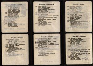 Kartoteka Tadeusza Różewicza, w interpretacji Teatru Powszechnego z Warszawy, w repertuarze 24 Festiwalu Polskich Sztuk Współczesnych we Wrocławiu, 1984 r.