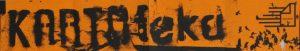 Program sztuki pt. Kartoteka Tadeusza Różewicza w reżyserii Michała Zadara, Wrocławski Teatr Współczesny, projekt graficzny programu: Robert Rumas, Ania Witkowska, 2006 r. [awers; w formie harmonijki z 3 złożeniami]