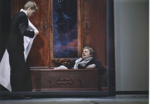 Pułapka, aut. fot.: Marek Grotowski, Opera Wrocławska, na fot.: Łukasz Rosiak (z lewej), 2011 r.