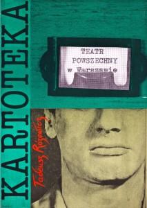 Kartoteka, reżyseria Michał Ratyński, Teatr Powszechny w Warszawie, aut. plakatu: Andrzej Klimowski, 1984 r.