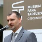 Marcin Hamkało, wicedyrektor Ossolineum zarządzający Muzeum Pana Tadeusza