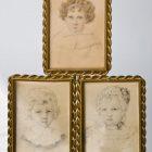 Elżbieta  Potocka, portrety dzieci: Marii, Leonii, Eugenii (1825-1833)