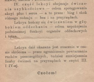 """Fragment z podręcznika """"sokolstwa"""""""