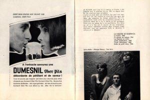 Informacja o sztuce pt. Le Fichier (Kartoteka) umieszczona w informatorze Theatre du Studio des Champs-Élysées, [Paris 1966 r.]