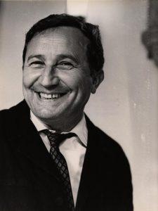 Tadeusz Różewicz – laureat Nagrody miasta Wrocławia, aut. fot. Tadeusz Drankowski, 6.05.1973 r.