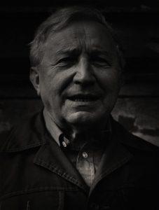 Tadeusz Różewicz, aut. fot. Tadeusz Drankowski, 1988 r.